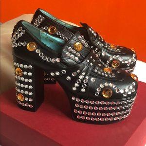 Gucci Amilna Platform Shoes